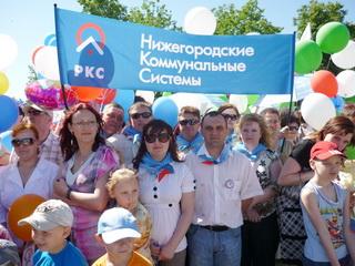 Компания НКС на параде, посвященном Дню города