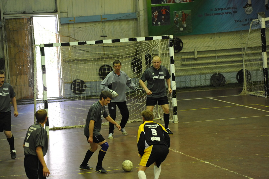 Соревновались в мини-футболе...